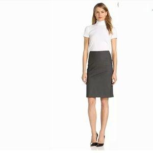 Theory Wool Golda Pencil Skirt
